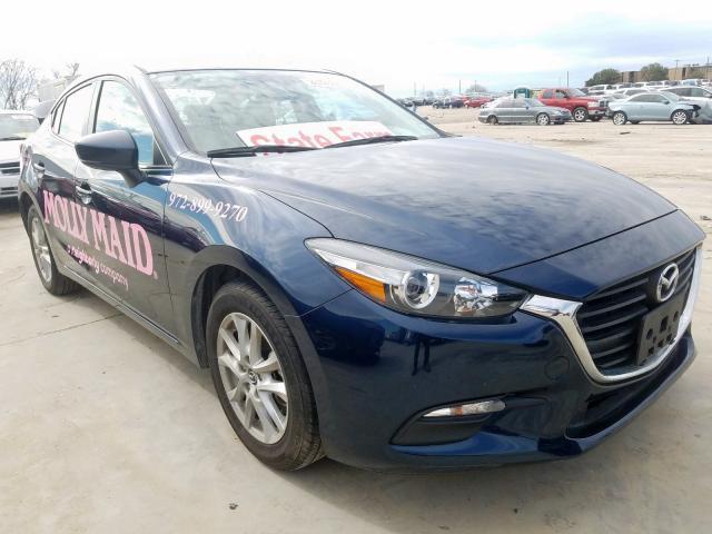 JM1BN1U78H1141704 - 2017 Mazda 3 Sport 2.0L Left View