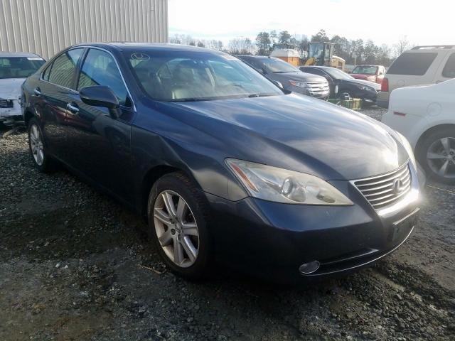 Salvage cars for sale from Copart Spartanburg, SC: 2009 Lexus ES 350