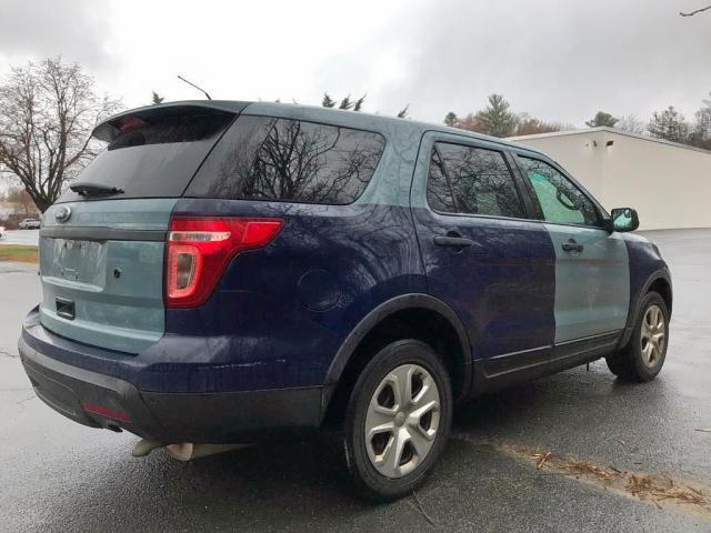 1FM5K8AR9DGC35890 - 2013 Ford Explorer P 3.7L rear view