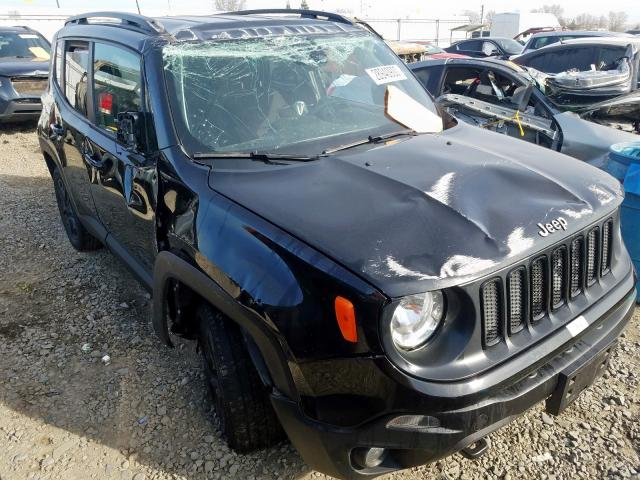 Jeep Renegade S salvage cars for sale: 2018 Jeep Renegade S