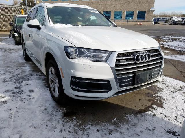 Vehiculos salvage en venta de Copart Littleton, CO: 2017 Audi Q7 Premium