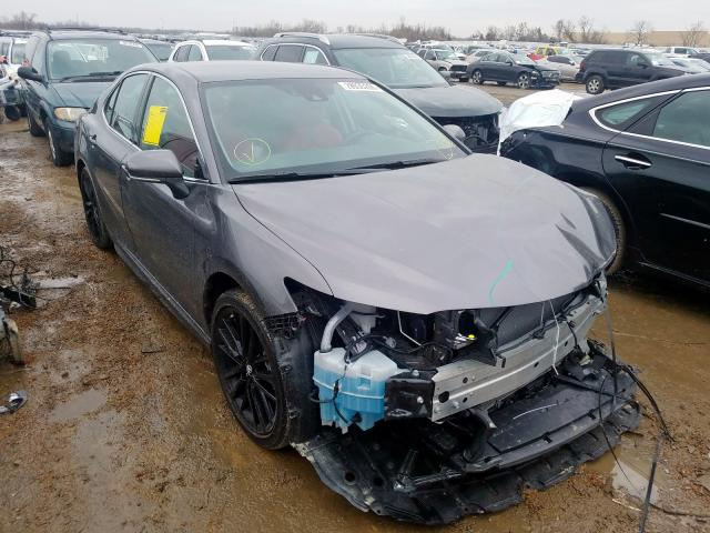 Salvage cars for sale from Copart Bridgeton, MO: 2019 Toyota Camry XSE