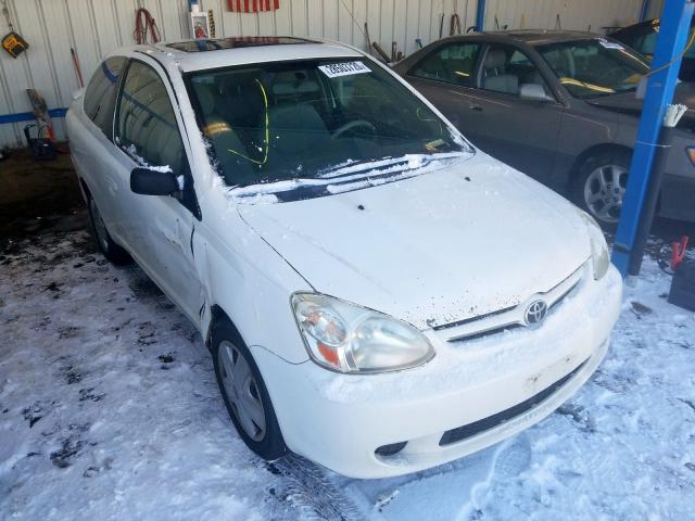 Salvage cars for sale from Copart Colorado Springs, CO: 2003 Toyota Echo