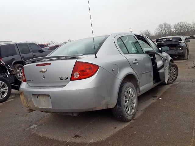 1G1AD5F50A7224606 - 2010 Chevrolet Cobalt 1Lt 2.2L rear view
