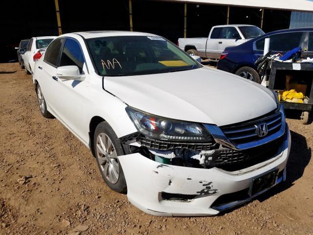 1HGCR2F75EA217906 - 2014 Honda Accord Ex 2.4L Left View
