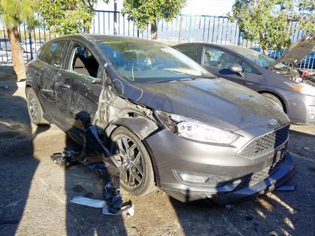 Ford Focus SE salvage cars for sale: 2016 Ford Focus SE