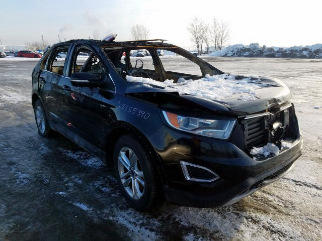 Salvage 2016 FORD EDGE - Small image. Lot 40538401