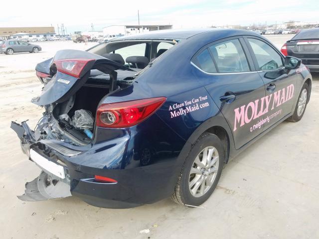 JM1BN1U78H1141704 - 2017 Mazda 3 Sport 2.0L rear view