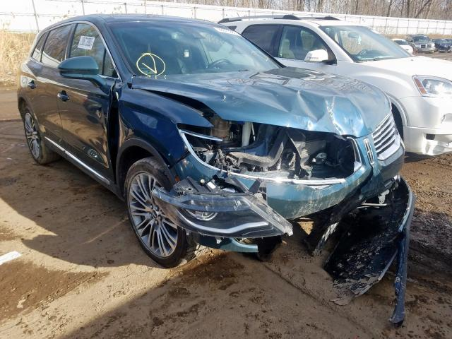 Salvage 2016 LINCOLN MKX - Small image. Lot 28873980
