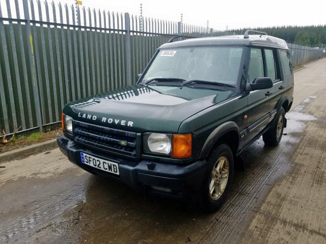 LAND ROVER DISCOVERY - 2002 rok
