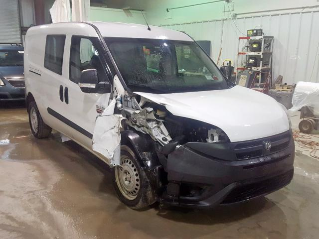 Salvage cars for sale from Copart Leroy, NY: 2016 Dodge RAM Promaster