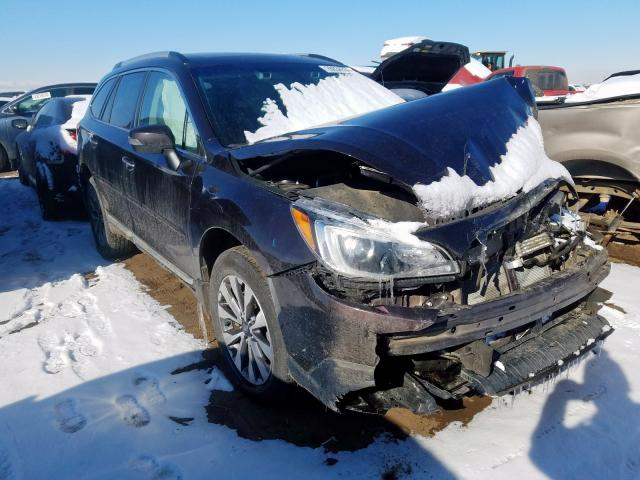 Salvage 2017 Subaru OUTBACK TO for sale