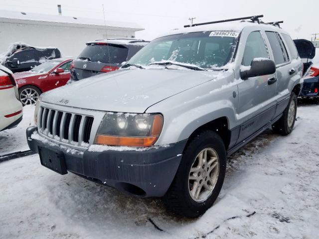 1J4GW48S74C430911 - 2004 Jeep Grand Cher 4.0L Right View