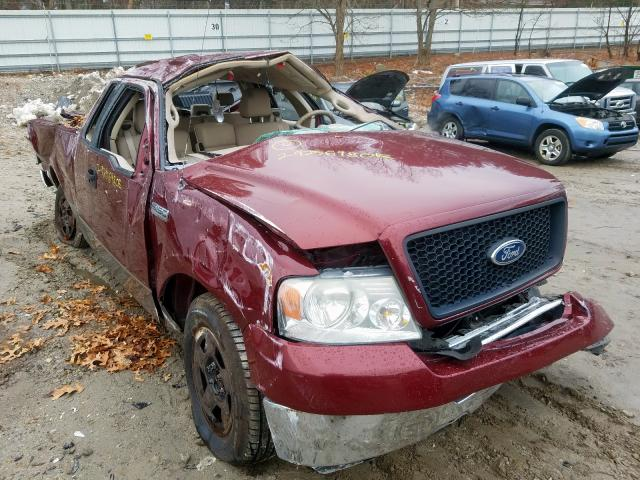 Salvage 2005 FORD F150 - Small image. Lot 29256980