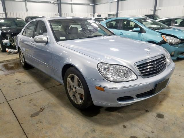 Salvage 2005 Mercedes-Benz S 500 4MATIC for sale