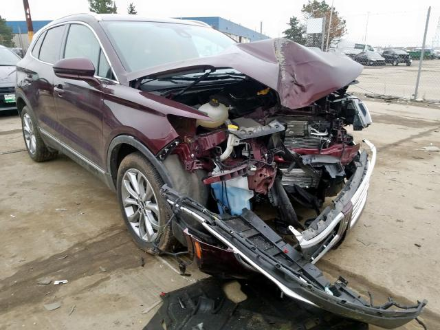 Lincoln MKC Select salvage cars for sale: 2017 Lincoln MKC Select