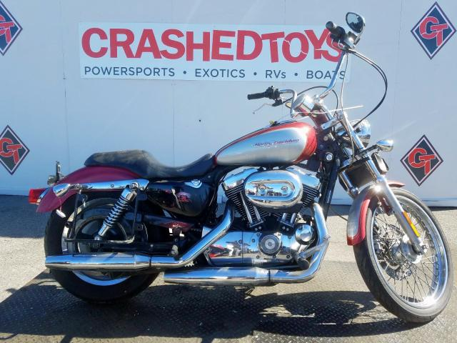 Harley-Davidson XL1200 C salvage cars for sale: 2004 Harley-Davidson XL1200 C