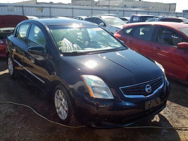 Salvage cars for sale from Copart Mercedes, TX: 2012 Nissan Sentra 2.0