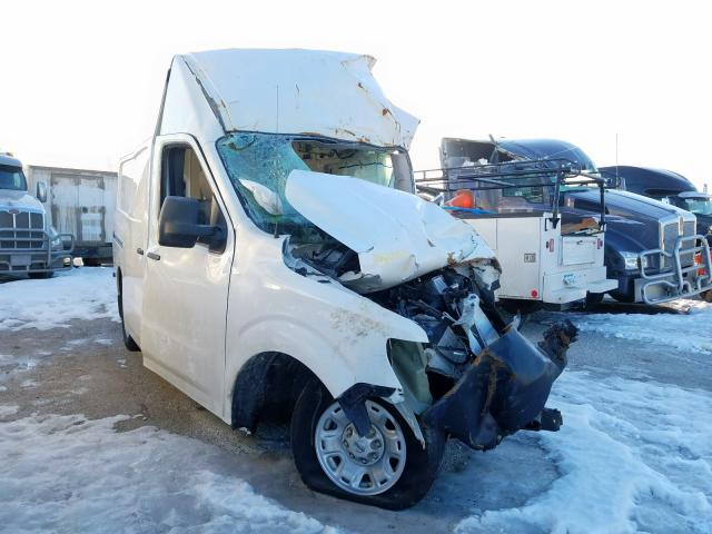 Salvage cars for sale from Copart Des Moines, IA: 2018 Nissan NV 2500 S