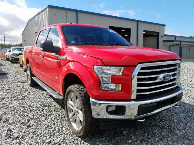 Salvage 2017 FORD F150 - Small image. Lot 29119060