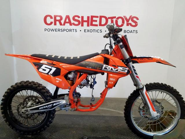 KTM salvage cars for sale: 2018 KTM 250 SX-F