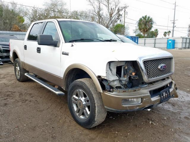 Salvage 2005 FORD F-150 - Small image. Lot 29500100