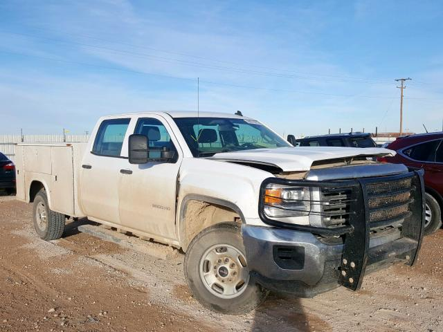 Salvage cars for sale from Copart Andrews, TX: 2015 GMC Sierra K25