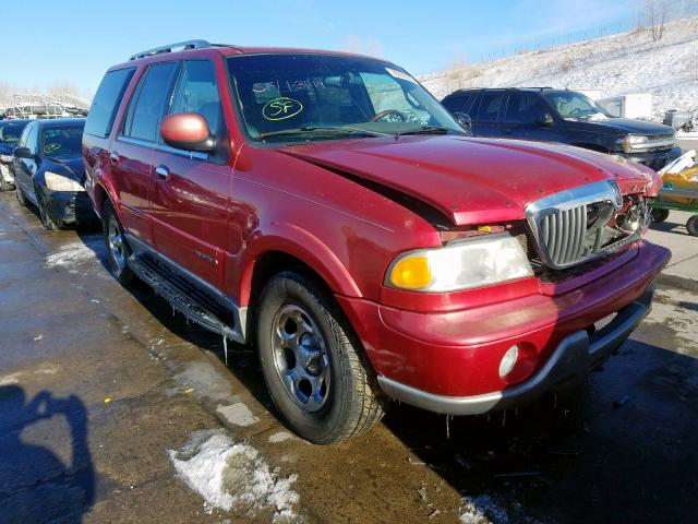 Lincoln salvage cars for sale: 2001 Lincoln Navigator