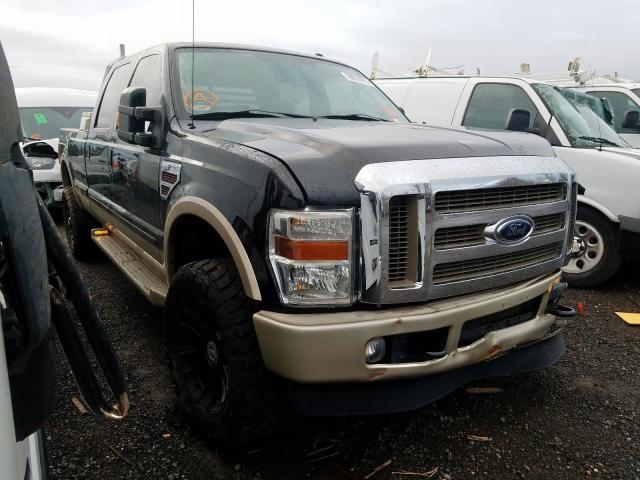Salvage cars for sale from Copart Woodburn, OR: 2009 Ford F350 Super