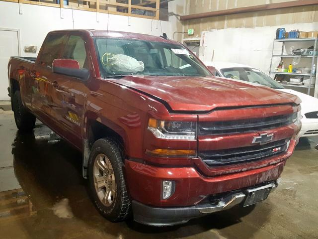 Chevrolet salvage cars for sale: 2016 Chevrolet Silverado