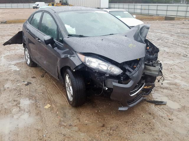 Salvage cars for sale from Copart Charles City, VA: 2019 Ford Fiesta SE