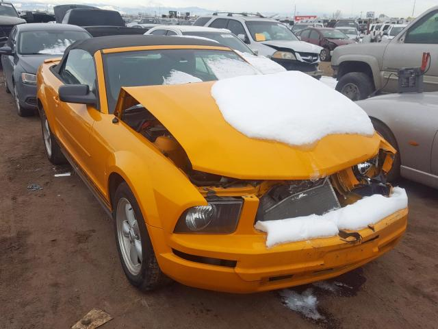 Ford Mustang salvage cars for sale: 2007 Ford Mustang