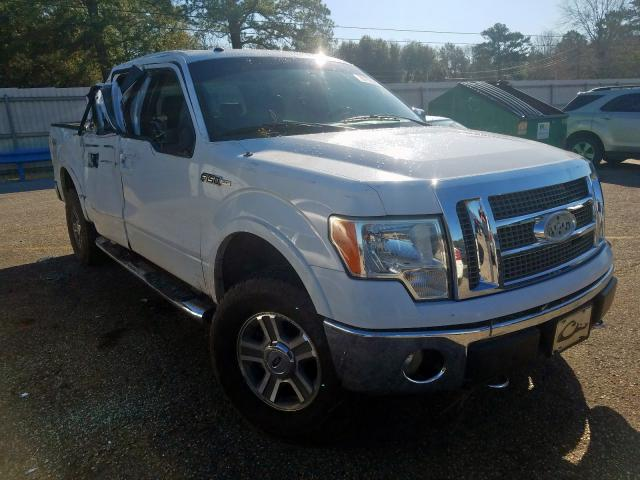 Ford salvage cars for sale: 2009 Ford F150 Super