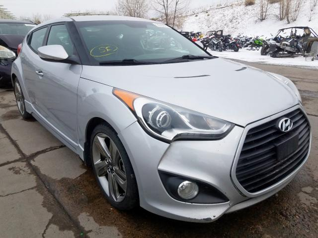 Hyundai salvage cars for sale: 2013 Hyundai Veloster T