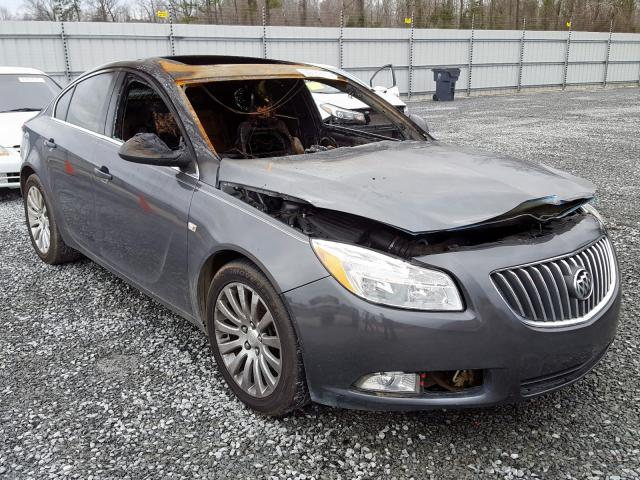 Salvage 2011 BUICK REGAL - Small image. Lot 29584620