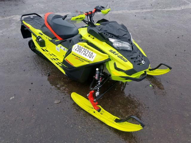 Skidoo salvage cars for sale: 2020 Skidoo 900ACE