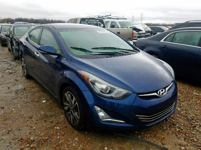 Salvage cars for sale from Copart Memphis, TN: 2015 Hyundai Elantra SE