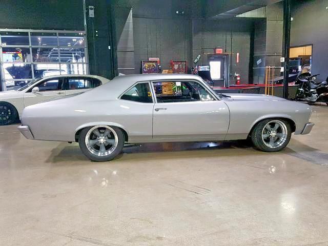 Salvage 1972 Chevrolet NOVA for sale
