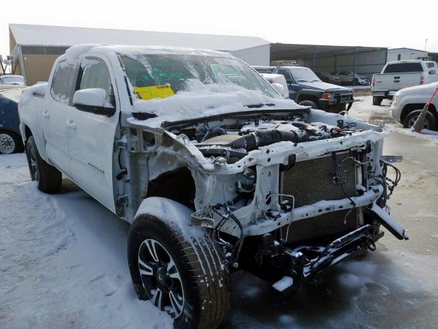 Toyota Tacoma DOU salvage cars for sale: 2017 Toyota Tacoma DOU