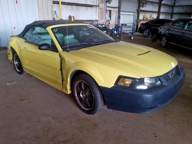 Ford Mustang salvage cars for sale: 2003 Ford Mustang