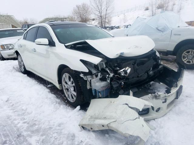 Salvage cars for sale from Copart Littleton, CO: 2014 Nissan Maxima S