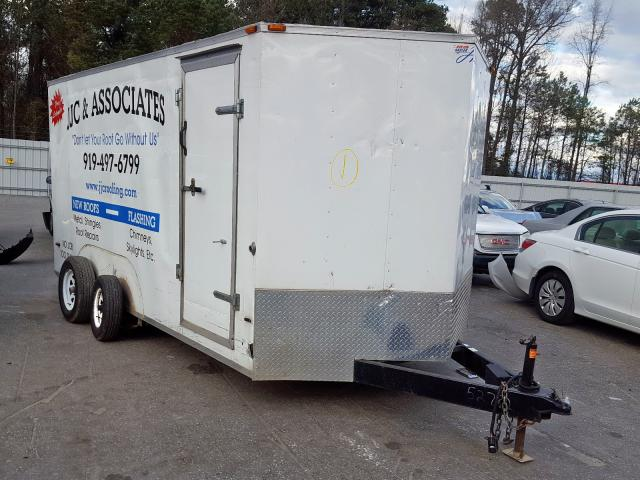 Horton Trailer salvage cars for sale: 2015 Horton Trailer