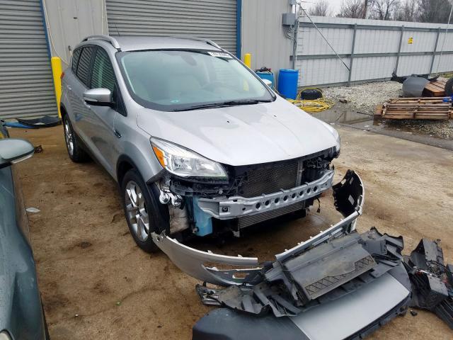 Salvage cars for sale at Memphis, TN auction: 2015 Ford Escape Titanium