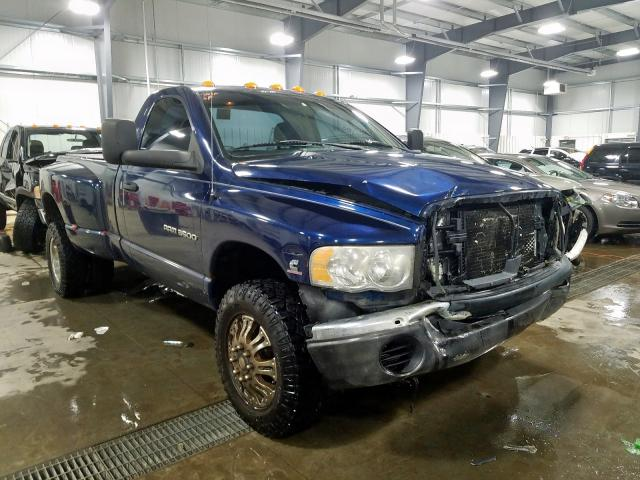 Dodge RAM 3500 S salvage cars for sale: 2004 Dodge RAM 3500 S