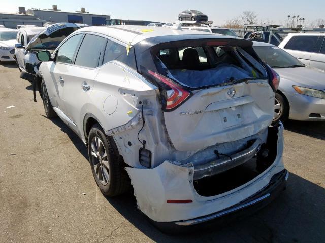 2017 Nissan MURANO | Vin: 5N1AZ2MH9HN124140
