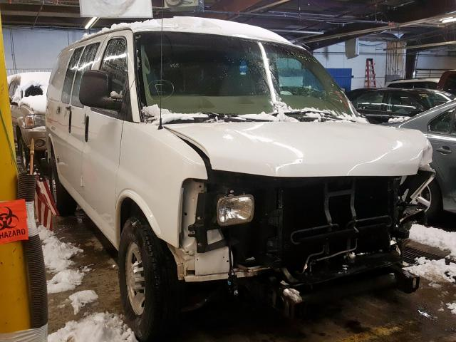Chevrolet Express G2 salvage cars for sale: 2012 Chevrolet Express G2