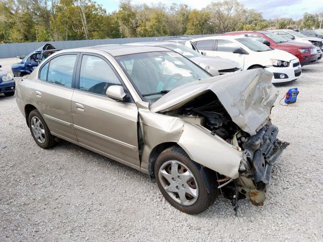 Salvage 2006 HYUNDAI ELANTRA - Small image. Lot 28158660