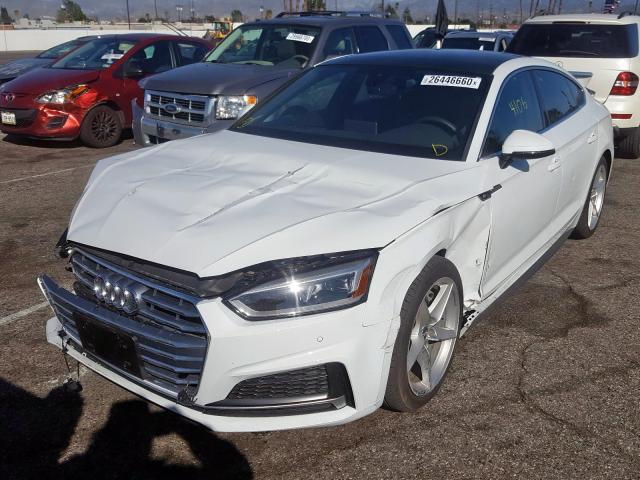 2019 Audi A5 | Vin: WAUENCF5XKA048627