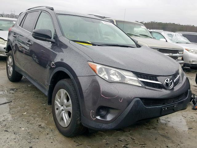 Salvage cars for sale from Copart Loganville, GA: 2015 Toyota Rav4 LE