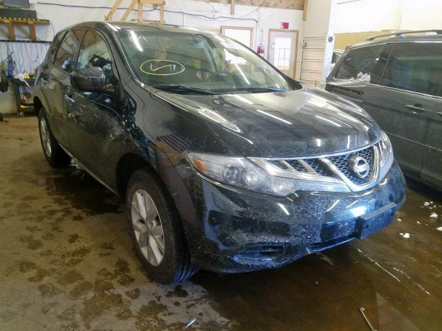 Salvage cars for sale from Copart Ham Lake, MN: 2013 Nissan Murano S